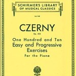 Czerny - 110 Easy and Progressive Exercises