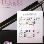 Alfred's Adult PianoTheory Book Level Three