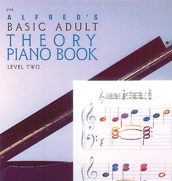 Alfred's Adult PianoTheory Book Level Two