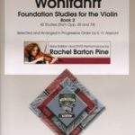 Wohlfahrt Foundation Studies for Violin Book 2